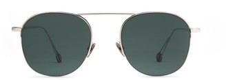 AHLEM Place Saint Sulpice White Gold Sunglasses