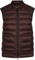 Belstaff Harbury Bordeaux Quilted Shell Gilet