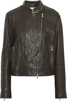 L'Agence Devon Leather Biker Jacket