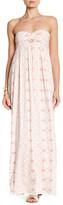 Rachel Pally Mozelle Strapless Print Maxi Dress