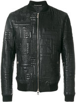 Versace quilted jacket - men - Lamb Skin/Polyester - 48