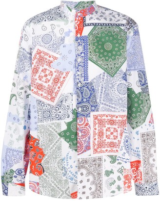 Costumein Domenico paisley-print shirt