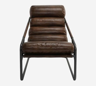 Pottery Barn Melbourne Leather Armchair