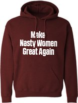 Indica Plateau Hoodie Make Nasty Women Great Again Adult