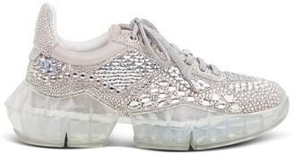 Jimmy Choo Crystal Diamond Sneakers