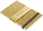 Christian Lacroix Paseo Embossed Notepad - Gold - A6