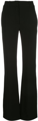 Ann Demeulemeester mid-rise flare trousers