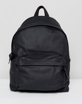 Eastpak Padded Pak'r Backpack In Leather 24l