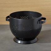 """Crate & Barrel Metro Black Colander 8.5"""""""