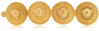 Versace Medusa Coin Right Side Hair Clip