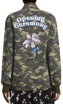 Opening Ceremony Camouflage Coach Cotton Jacket