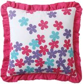 Bed Bath & Beyond Amanda Applique Square Throw Pillow in Multi