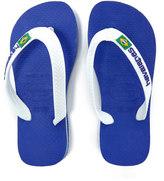 Havaianas Kids' Brasil Logo Flip Flops