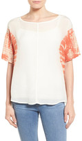 Willow & Clay Short Sleeve Blouse