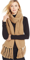 MICHAEL Michael Kors Seed Stitch Muffler with Fringe