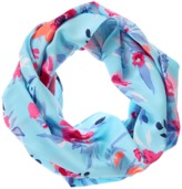 Crazy 8 Floral Infinity Scarf