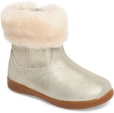 UGG Jorie II Genuine Shearling Metallic Boot