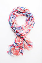 J. Jill Directional-Stripes Scarf