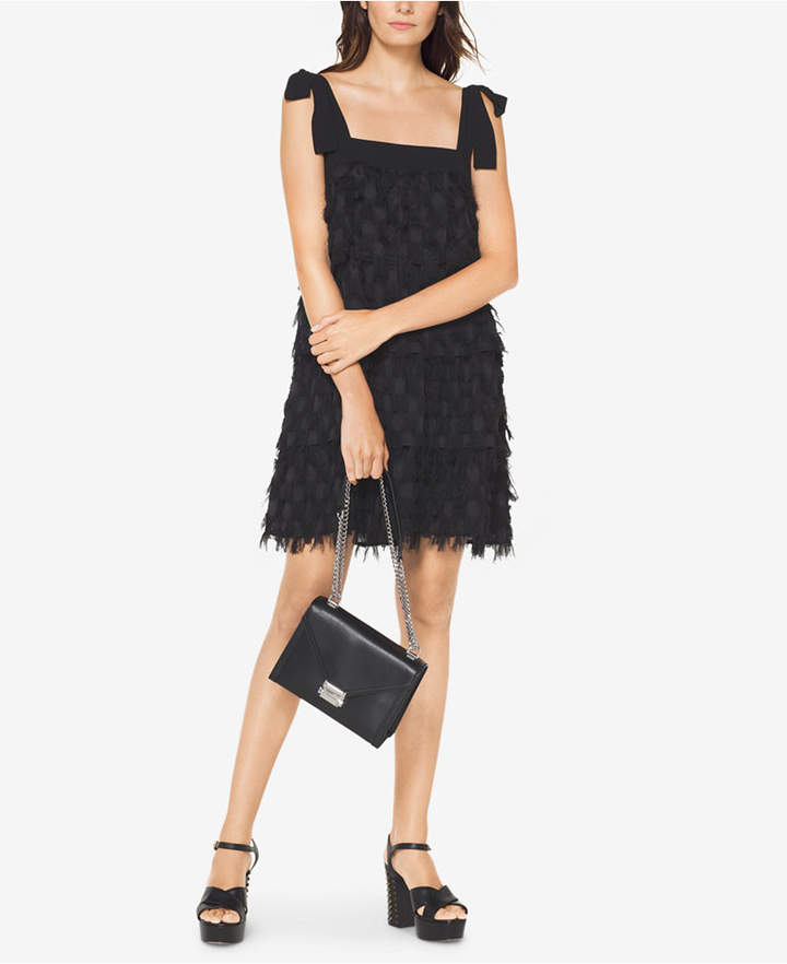 Michael Kors Fringe-Trim Dress
