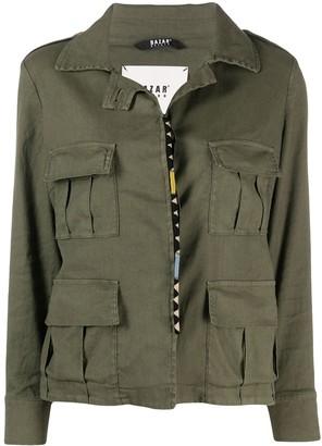 Bazar Deluxe Flap-Pocket Linen-Blend Jacket