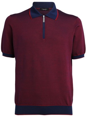 Stefano Ricci Zipped Polo Shirt