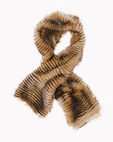 Chico's Elle Pull-Through Scarf