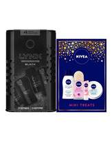 Lynx His and Hers Nivea and Mini Sets