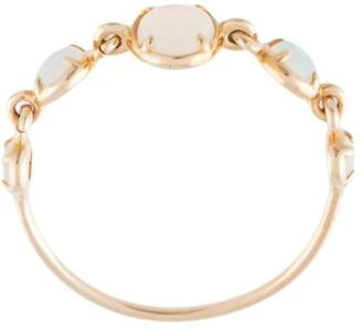 Sarah & Sebastian 10kt gold Chroma opal ring