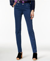 INC International Concepts Deep Twilight Wash Skinny Jeans, Only at Macy's
