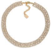 Lauren Ralph Lauren 12K Goldplated Brass Choker Necklace