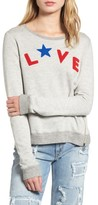 Sundry Women's Love Sweatshirt