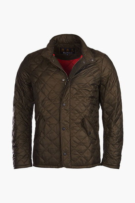 Barbour Olive Flyweight Chelsea Quilt Jacket