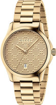 Gucci YA126461 G Timeless gold-plated stainless steel watch