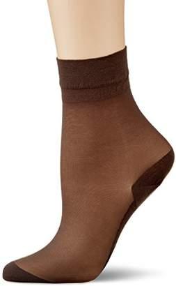 Kunert Women's Cotton Sole Socks, 20 DEN