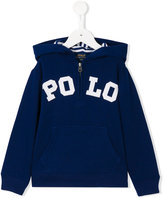 Ralph Lauren logo hoodie - kids - Cotton/Polyester - 2 yrs