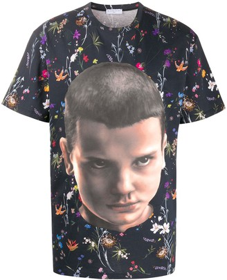 Ih Nom Uh Nit Eleven floral-print T-Shirt