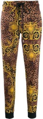 Versace leopard-print sweatpants