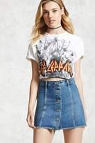 Forever 21 FOREVER 21+ Button Fly Mini Denim Skirt