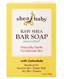 Out of Africa Baby Bar Soap, Unscented 4 oz (113.4 g) by Pack of 2)