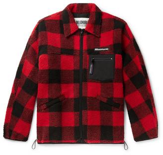 Billionaire Boys Club Checked Fleece Overshirt