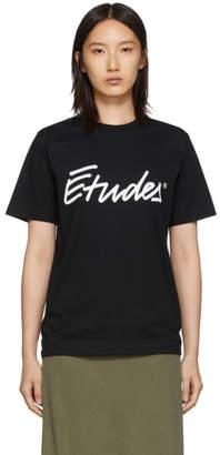 Études Black Wonder Signature T-Shirt