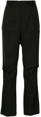Undercover Knee Slit Trousers
