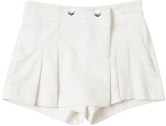 Moncler Cotton Piquet Shorts