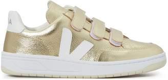 Veja V-12 metallic Velcro sneakers