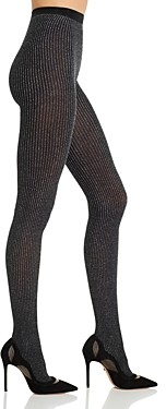 Wolford Dora Metallic Ribbed Tights