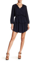 Collective Concepts Ruffle Detail Peplum Dress