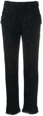 Giorgio Armani Sequin Embroidered Trousers