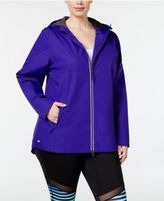Ideology Plus Size Rain Jacket, Only at Macy's