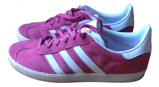 adidas Gazelle Pink Suede Trainers