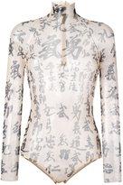 DSQUARED2 kanji bodysuit